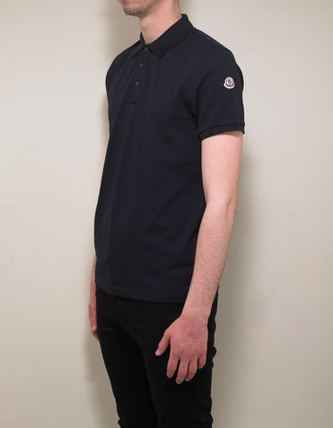 Moncler Navy Blue Polo T-Shirt