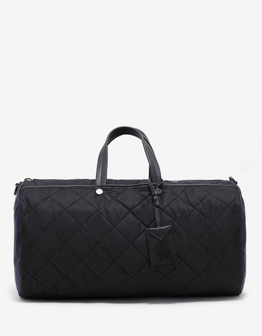 Moncler New Bertrand Black & Blue Duffel Bag