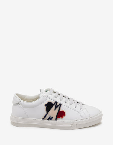 Moncler New Monaco White Trainers