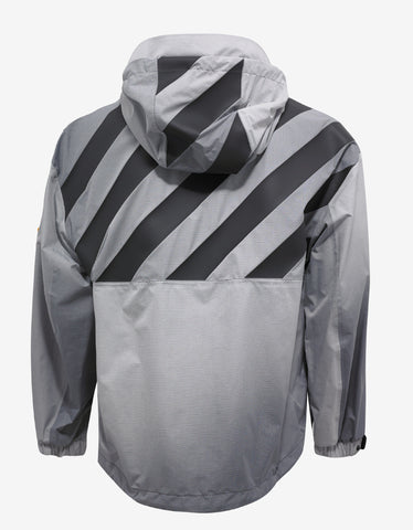Moncler O Donville Grey Windbreaker