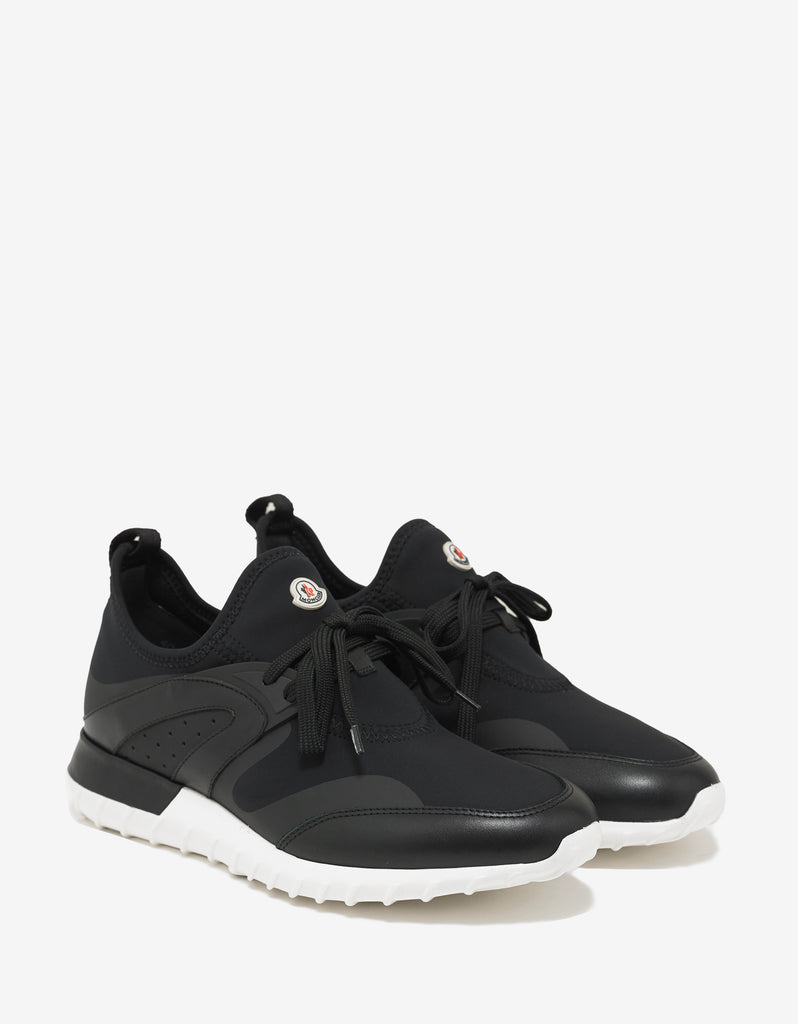 Moncler. Oricle Black Running Trainers