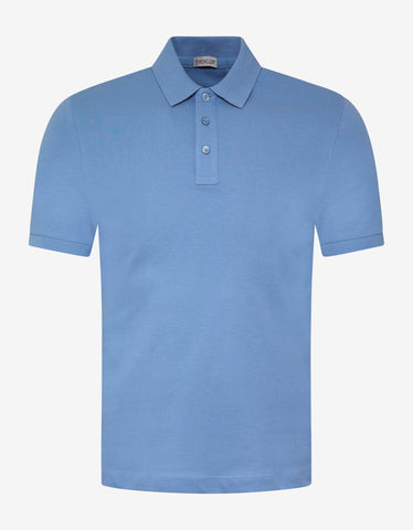 Moncler Sky Blue Polo T-Shirt