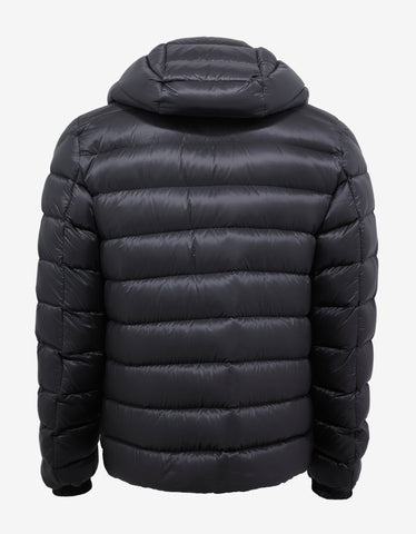 Moncler Valence Grey Nylon Down Jacket