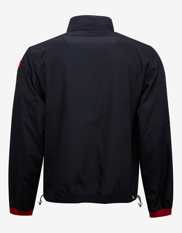 Moncler Vivier Navy Blue Lightweight Jacket