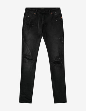 Iggy Skinny Painted Lost Time Jeans