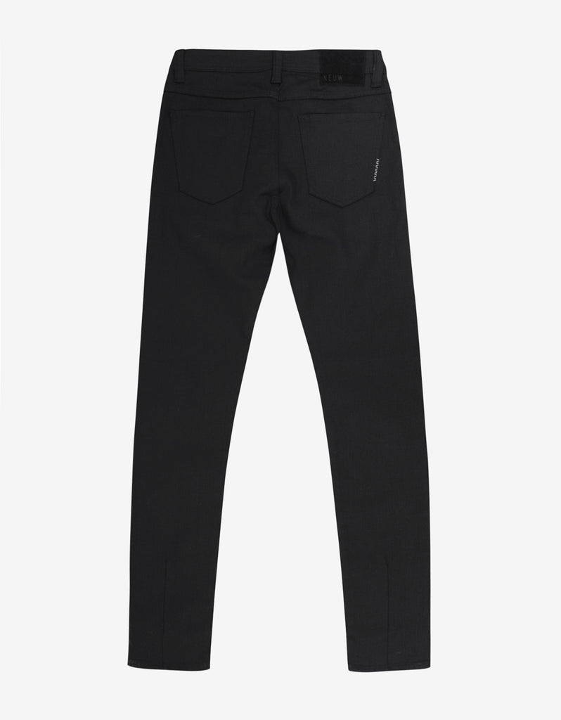 Iggy Skinny 'Black Raw' Denim Jeans
