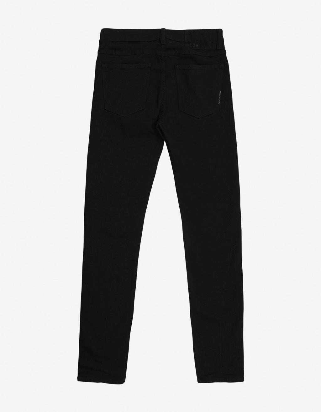 Iggy Skinny Perfecto Black Jeans