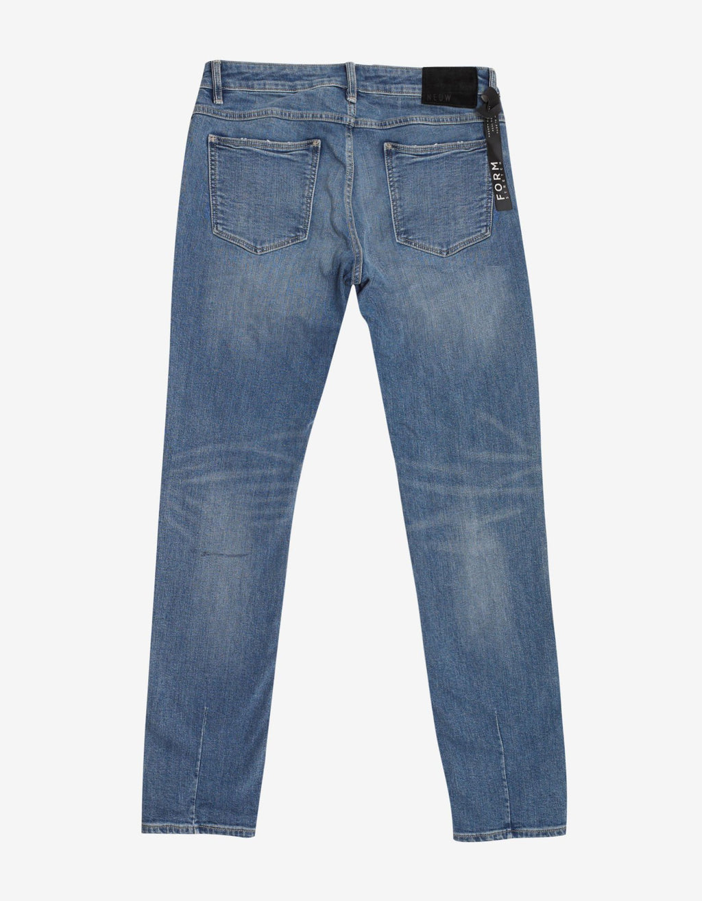 Iggy Skinny Train Distressed Blue Jeans