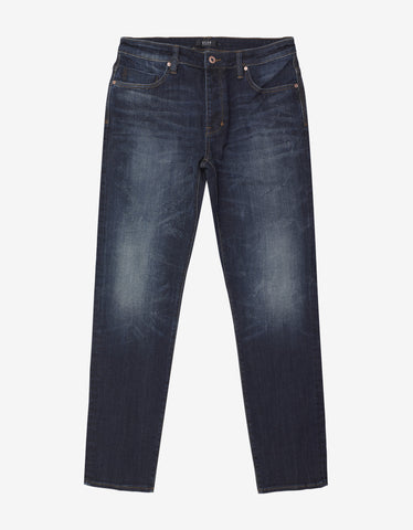 Neuw Lou Slim Cat St. Airwash Wash Blue Jeans