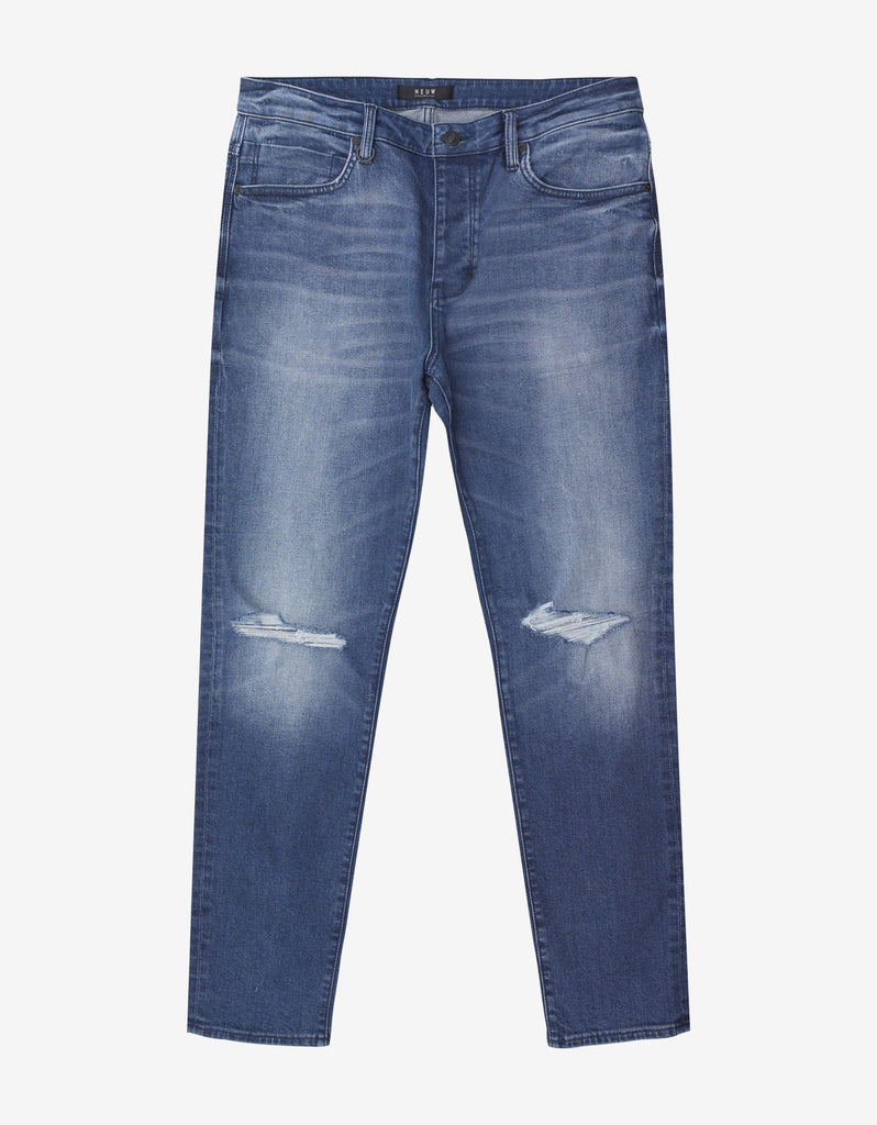 Ray Tapered St. Erik Airwash Distressed Jeans