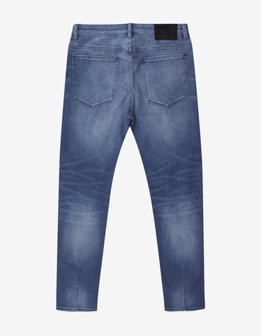 Neuw Ray Tapered St. Erik Airwash Distressed Jeans