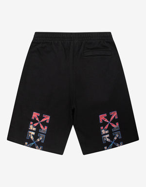 Black Caravaggio Painting Sweat Shorts