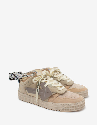 Rantulow Flat Canvas & Suede Trainers