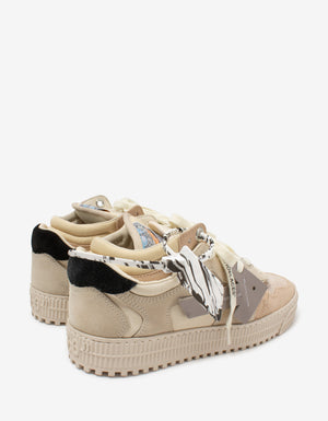 Beige Off-Court Low Trainers