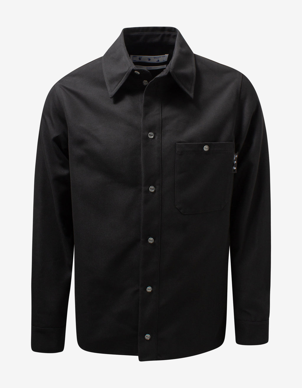 Black OW Logo Work Shirt