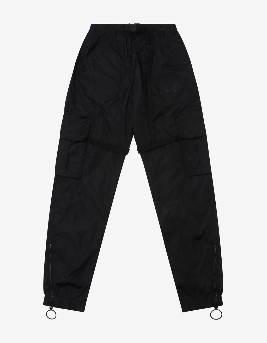 Black Arrow Parachute Cargo Pants