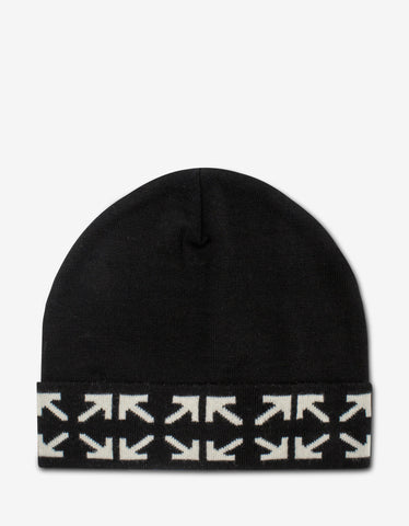 Black Crossed Logo Bucket Hat