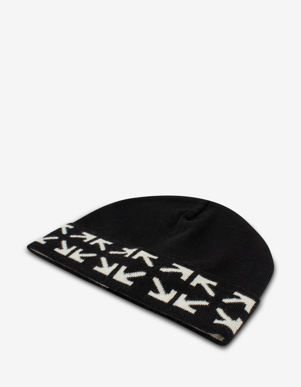 Black Arrows Beanie Hat