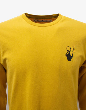 Yellow Agreement Long Sleeve T-Shirt