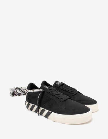 Black Wing Translucent Low Trainers
