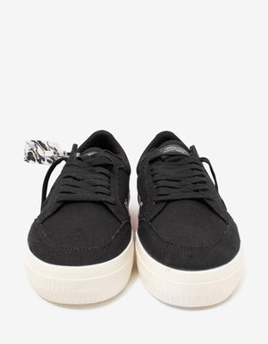 Black Low Vulcanized Trainers