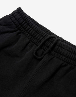 Black OW Logo Sweat Shorts