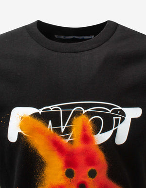 Black Pivot Fish T-Shirt