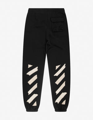 Black Tape Arrow Slim Sweatpants