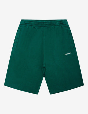 Green Caravaggio Painting Sweat Shorts