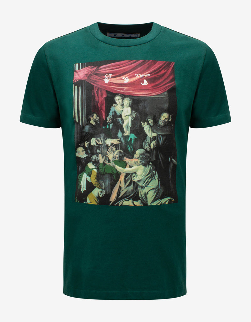 Green Caravaggio Painting T-Shirt