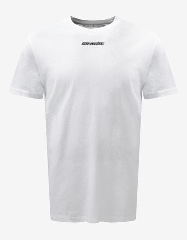 White 3D Logo T-Shirt