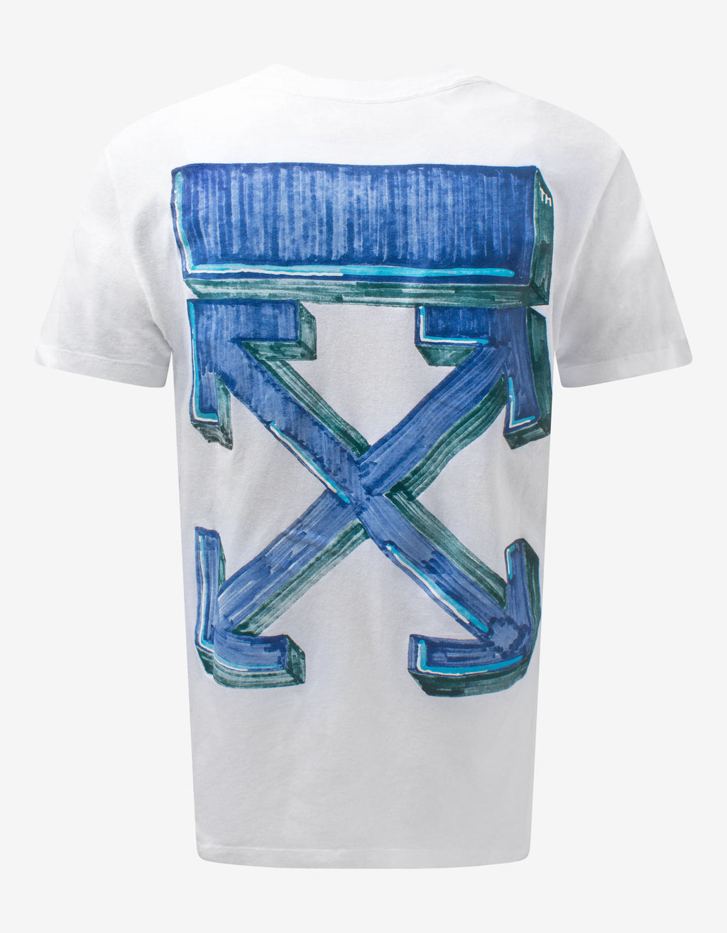 White Marker Arrows T-Shirt
