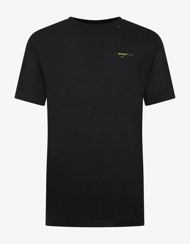 Off-White Black Acrylic Arrows Slim T-Shirt