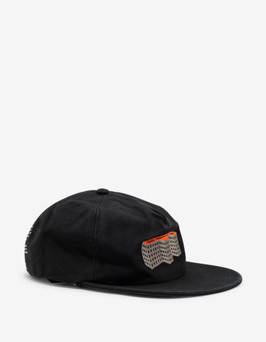 Off-White Black F Building 5 Panel Cap