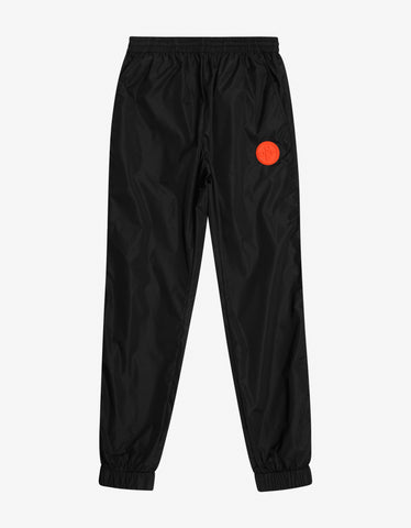 Off-White Black Logo Patch Track Pants