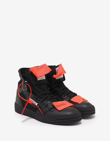 Off-White Black Low 3.0 Trainers