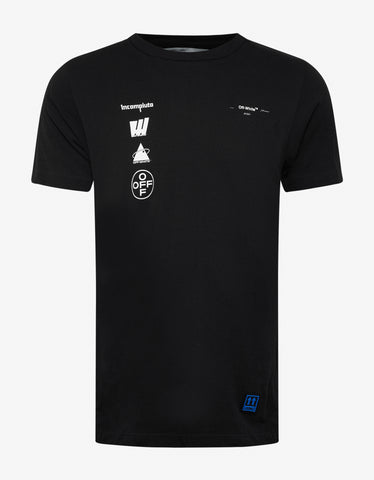 Off-White Black Mariana De Silva Slim T-Shirt