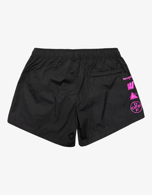 Black Mariana De Silva Swim Shorts