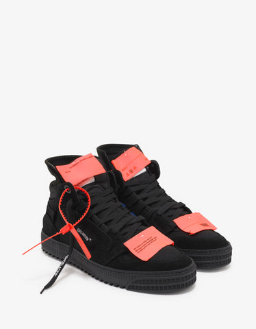Black Off-Court 3.0 Suede Trainers