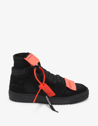 Off-White Black Off-Court 3.0 Suede Trainers