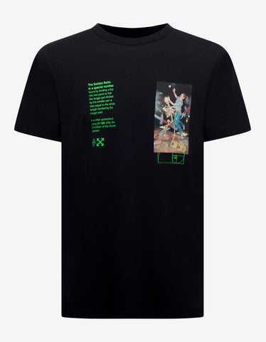 Off-White Black Pascal Painting Print T-Shirt