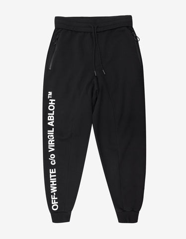 Off-White C/O Virgil Abloh Black Sweat Pants