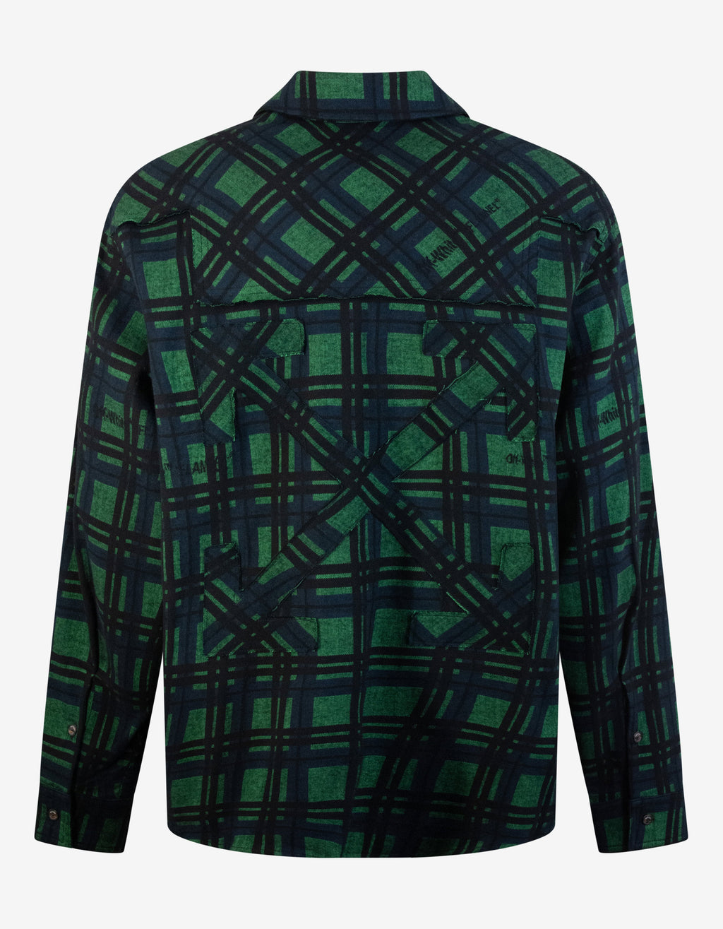 Green & Black Flannel Check Shirt