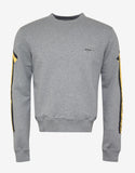 Grey Arrows Print Sweatshirt