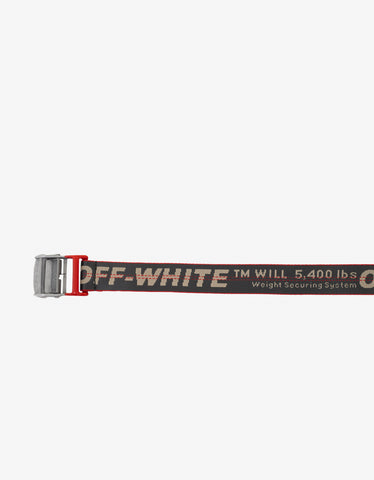 Off-White Grey Industrial Belt