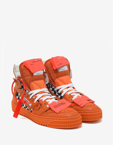 Off-White Orange Low 3.0 Trainers