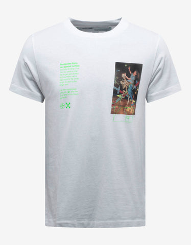 Off-White White Pascal Painting Print T-Shirt