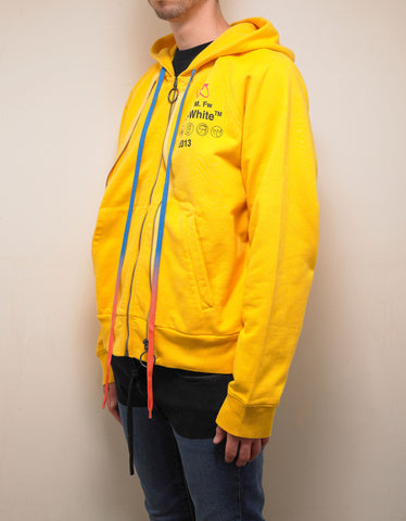 Yellow Industrial Y013 Double Zip Hoodie