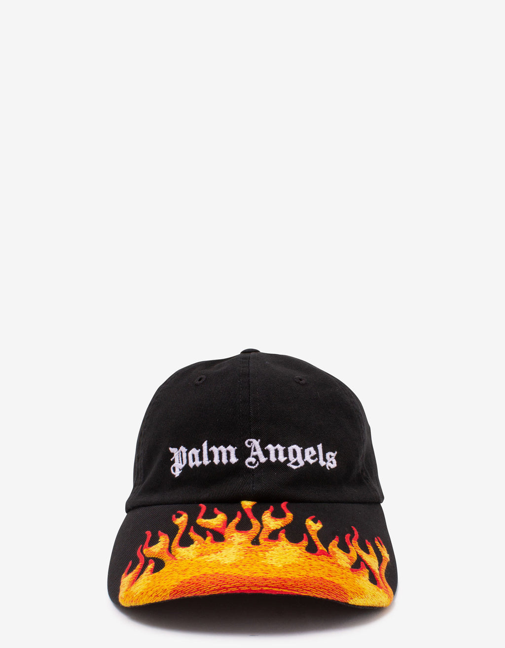 Black Flames Baseball Cap