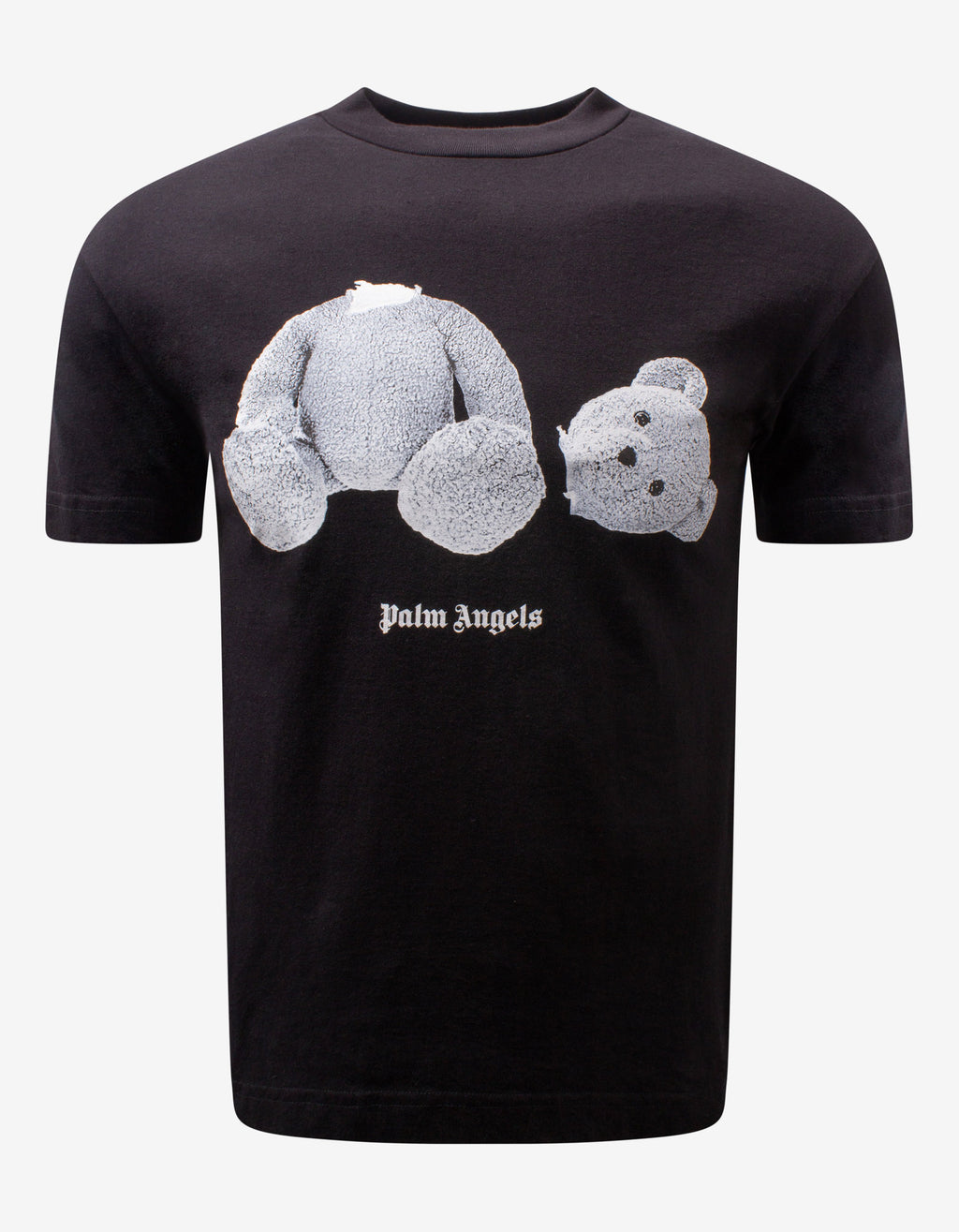 Black Ice Bear Print T-Shirt